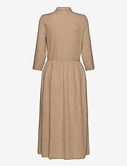 Vila - VISAFARI MIDI 3/4 DRESS - shirt dresses - nomad - 1