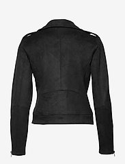 Vila - VIFADDY JACKET - NOOS - leather jackets - black - 5