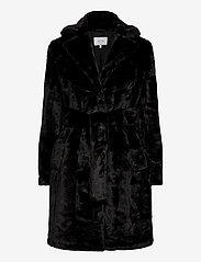 Vila - VIBODA NEW FAUX FUR COAT/PB/SU - faux fur - black - 0