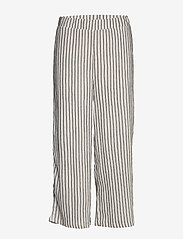 Vila - VIVANILLA HWRX CROPPED PANT - wide leg trousers - snow white - 0