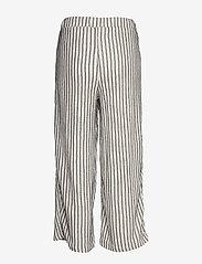 Vila - VIVANILLA HWRX CROPPED PANT - wide leg trousers - snow white - 1