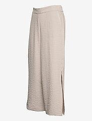 Vila - VILINEA RW 7/8 PANTS/2 - bukser med brede ben - dove - 2