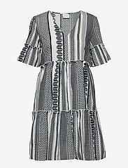 Vila - VIHANNAS 2/4 DRESS - short dresses - snow white - 0