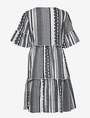 Vila - VIHANNAS 2/4 DRESS - short dresses - snow white - 1