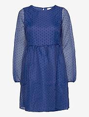 Vila - VIWAUV 3/4 DRESS /RX - korte kjoler - mazarine blue - 0