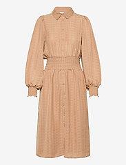 Vila - VIMUSLING L/S DRESS - alledaagse jurken - tigers eye - 0