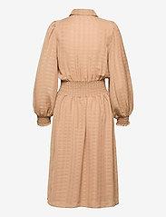 Vila - VIMUSLING L/S DRESS - alledaagse jurken - tigers eye - 1