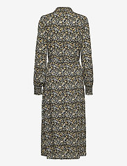 Vila - VITENDI FUNKEL L/S SHIRT DRESS/OFW - alledaagse jurken - black - 1