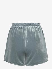 Vila - VIVELVETTA RW SHORTS - shorts casual - goblin blue - 1