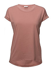 VIDREAMERS PURE T-SHIRT-NOOS - ASH ROSE