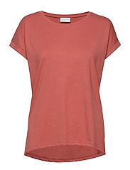 VIDREAMERS PURE T-SHIRT-NOOS - DUSTY CEDAR