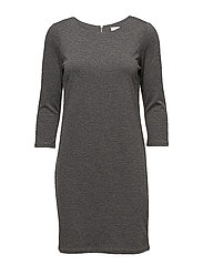 VITINNY NEW DRESS-NOOS - MEDIUM GREY MELANGE