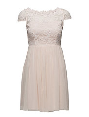 VIULRICANA SHORT DRESS/STU - SILVER PEONY