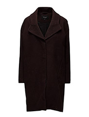VIBERTA COAT H - CHOCOLATE PLUM