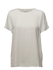 VICAVA S/S TOP-NOOS - CLOUD DANCER
