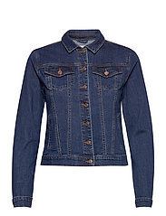 VISHOW DENIM JACKET - NOOS - MEDIUM BLUE DENIM