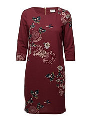 VITINNY NEW DRESS - LUX - EARTH RED