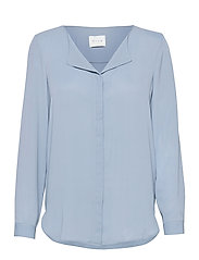 VILUCY L/S SHIRT - - ASHLEY BLUE