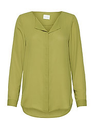 VILUCY L/S SHIRT - - GREEN OLIVE