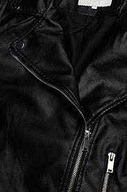 Vila - VICARA COATED JACKET/SU - NOOS - leather jackets - black - 3