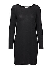 VITINNY LUOSQUARE NEW DRESS - BLACK