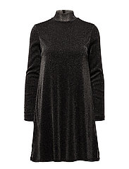 VIGLORI VANG L/S DRESS/1 - BLACK