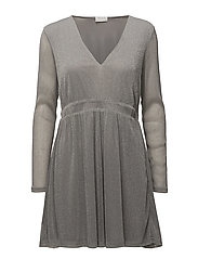 VIMILLLIE L/S DRESS - SILVER