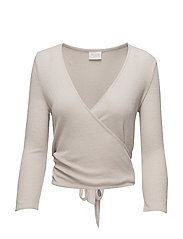 VILEJA 3/4 WRAP COVER UP - PEACH BLUSH