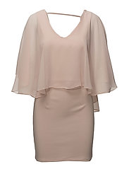 VISAYS S/L DRESS/DC - PEACH BLUSH
