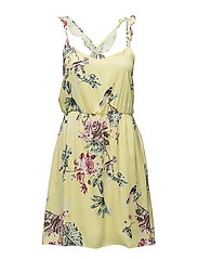 VITETRI STRAP DRESS/DC - YELLOW IRIS
