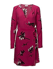 VIJOSHLIN L/S DRESS - BEETROOT PURPLE