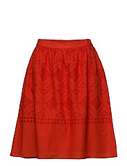VISIMMI SKIRT - ORANGE.COM