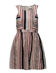 VILINIS S/L DRESS - CLOUD DANCER