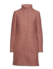 VIALANIS COAT-NOOS - ASH ROSE