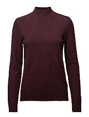 VIRIL L/S TURTLENECK KNIT TOP-NOOS - WINETASTING