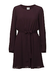 VILUCY L/S DRESS-NOOS - WINETASTING