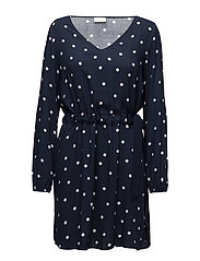 VIESTO DOTINAS L/S  DRESS/PB - TOTAL ECLIPSE