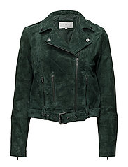 VIFAITH SUEDE JACKET - PINE GROVE