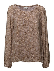 VINEMA EMIA L/S TOP/RP - ADOBE ROSE