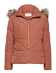 VICALIFORNIA NEW SHORT DOWN JACKET - REDWOOD