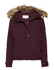 VITRUST SHORT PARKA JACKET - WINETASTING