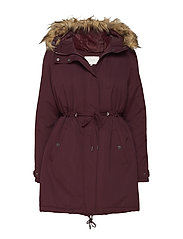 VITRUST LONG PARKA JACKET - WINETASTING