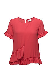 VISORINA S/S TOP - TOMATO PUREE
