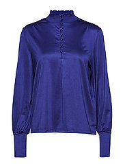 VISEEBA L/S T-SHIRT - CLEMATIS BLUE