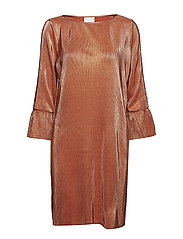 VIPARTA 3/4 DRESS - REDWOOD