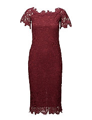 VIVANDA S/S DRESS - EARTH RED