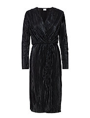 VIFRANCES NEW KNOT DRESS - BLACK