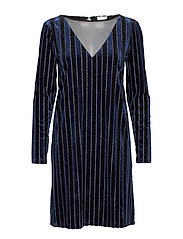VIASTRA L/S DRESS CC - TOTAL ECLIPSE