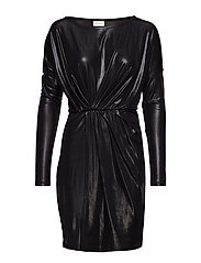 VIDISCO L/S DRESS - BLACK