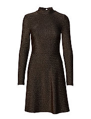 VIGLOWA L/S DRESS - BLACK